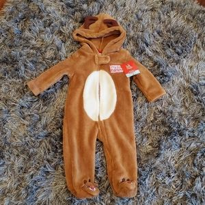 Other - NWT Baby's Rudolph Footie Pajamas size 3 months